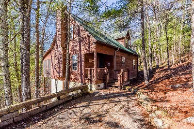 Townsend Single Family Home For Sale: 205 Cutter Gap Rd