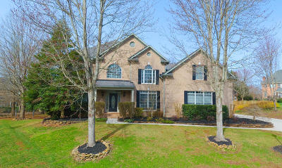 Knoxville Single Family Home For Sale: 654 Gwinhurst Rd