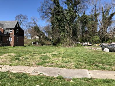 Knoxville TN Residential Lots & Land For Sale: $4,500