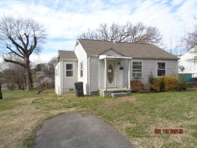 Knoxville TN Single Family Home For Sale: $42,900