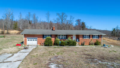 Single Family Home For Sale: 4776 Roane State Hwy