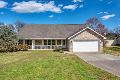Greenback Single Family Home For Sale: 190 Franklin Estates Lane