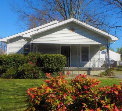 Knoxville Single Family Home For Sale: 2427 Seymour Ave