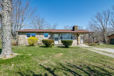 Crossville Single Family Home For Sale: 211 Brown Rd