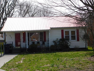 Middlesboro Single Family Home For Sale: 813 W Chester Ave