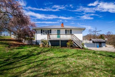 Anderson County, Campbell County, Claiborne County, Grainger County, Union County Single Family Home For Sale: 1105, 1201 Manley Rd