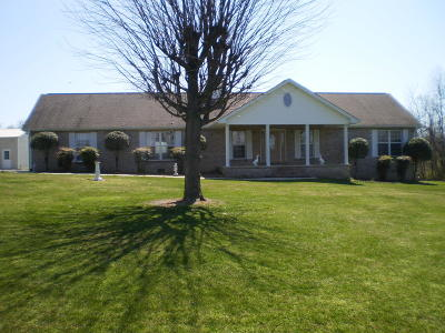 Crossville Single Family Home For Sale: 6891 N Highway 70