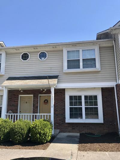 Knoxville Condo/Townhouse For Sale: 2138 Belle Terra Rd