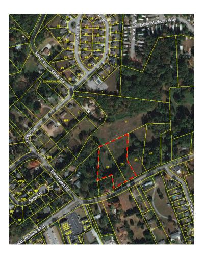 Knoxville Residential Lots & Land For Sale: Bakertown Rd