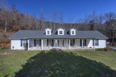 Single Family Home For Sale: 414 Riddle Rd