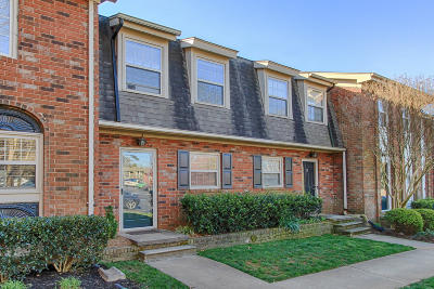 Knoxville Condo/Townhouse For Sale: 6525 Deane Hill Drive #Apt 26