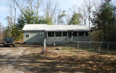 Vonore Single Family Home For Sale: 1564 Mt. Pleasant Rd