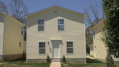 Knoxville Condo/Townhouse For Sale: 3924 Archibald Way