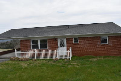 Tazewell Single Family Home For Sale: 1911 N Hilll Drive
