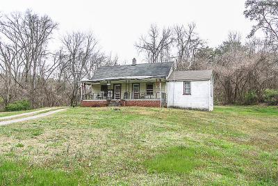 Knoxville Single Family Home For Sale: 6632 Burnett Creek Rd