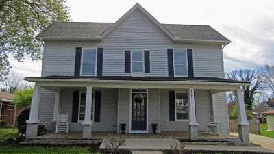 Morristown Single Family Home For Sale: 422 E 4th North St