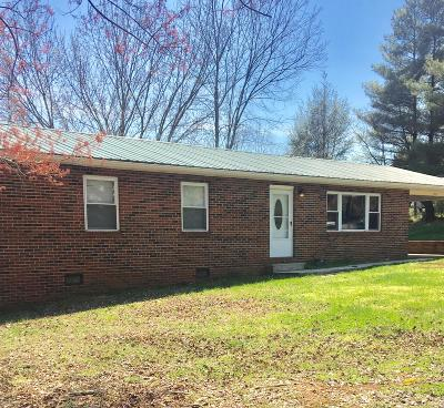 New Tazewell Single Family Home For Sale: 1903 Snodgrass Rd
