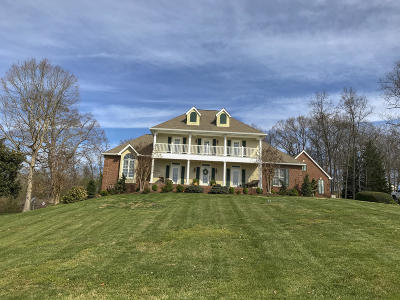 Anderson County, Campbell County, Claiborne County, Grainger County, Hancock County, Hawkins County, Jefferson County, Union County Single Family Home For Sale: 1229 Country Club Rd