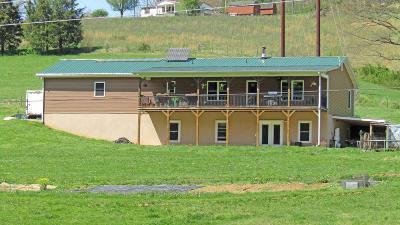 Hancock County Single Family Home For Sale: 246 Vardy Blackwater Rd