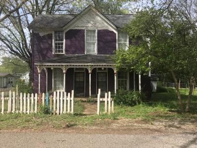 Sweetwater Single Family Home For Sale: 206 Maple St