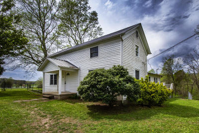 Single Family Home For Sale: 727 Abels Valley Rd