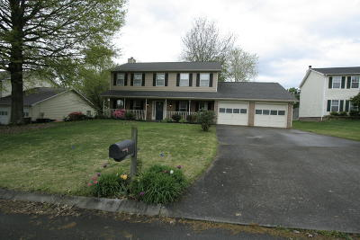 Knoxville Single Family Home For Sale: 1437 Oak Haven Rd