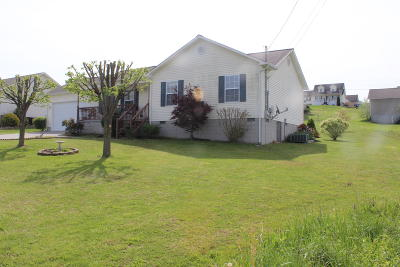 Caryville, Jacksboro, Lafollette, Rocky Top, Speedwell, Maynardville, Andersonville Single Family Home For Sale: 190 Clover Circle