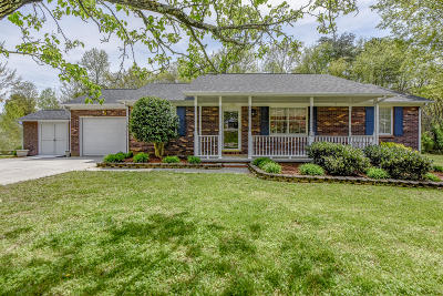 Knoxville Single Family Home For Sale: 4320 Raj Rd