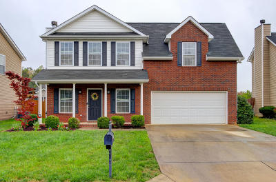Knoxville Single Family Home For Sale: 5448 Castle Pines Lane