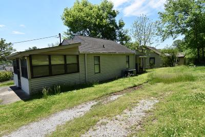 Knoxville TN Single Family Home For Sale: $69,900