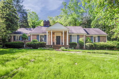Knoxville Single Family Home For Auction: 5412 Riverbend Drive