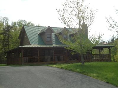 Sevierville Single Family Home For Sale: 1653 Bench Mountain Way