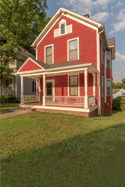 Knoxville Single Family Home For Sale: 814 Luttrell St