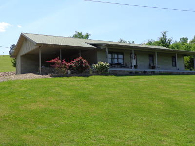 Cocke County Single Family Home For Sale: 1091 Clear Creek Rd