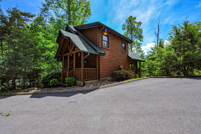 Gatlinburg Single Family Home For Sale: 637 Gatlinburg Falls Way