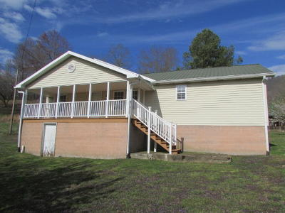 Oliver Springs Single Family Home Pending: 10366 Petros Hwy