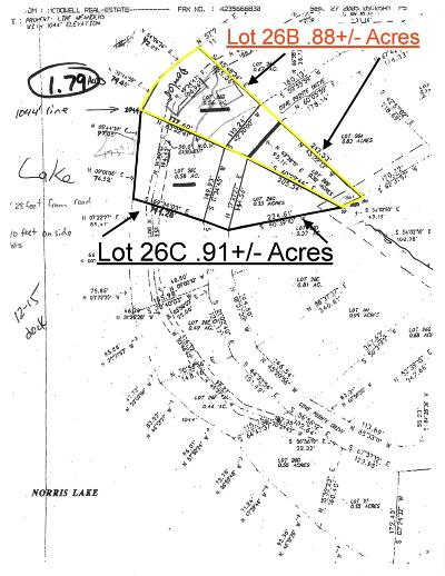 Campbell County Residential Lots & Land For Sale: 26b Cove Pointe Rd