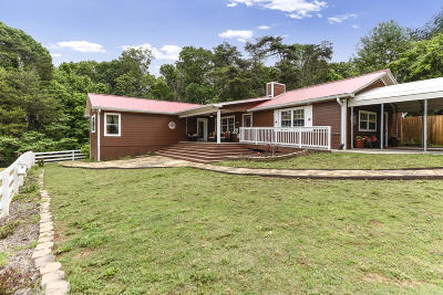 Maryville Single Family Home For Sale: 466 Long Hollow Rd