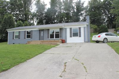 Lafollette Single Family Home For Sale: 112 Country Hill Lane