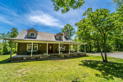Crossville Single Family Home For Sale: 857 Turner Greenhouse Rd