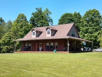 New Tazewell Single Family Home For Sale: 687 Fords Chapel Rd