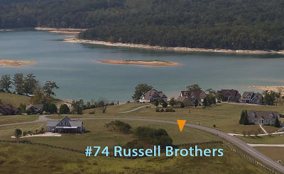 Anderson County, Campbell County, Claiborne County, Grainger County, Hancock County, Hawkins County, Jefferson County, Union County Residential Lots & Land For Sale: Lot 74 Russell Brothers Rd
