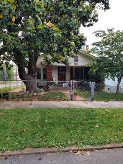 Knoxville TN Single Family Home For Sale: $125,000