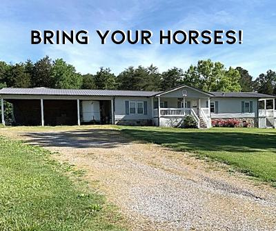 Monroe County Single Family Home For Sale: 238 Little Notchey Creek Rd