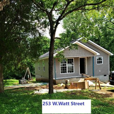 Blount County Single Family Home For Sale: 253 W Watt St