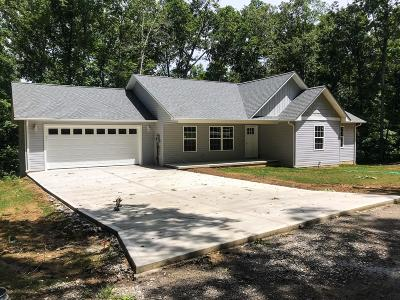 Crossville Single Family Home For Sale: 1532 War Eagle Drive