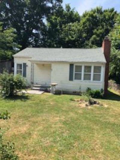 Lafollette Single Family Home For Sale: 506 W Hemlock St