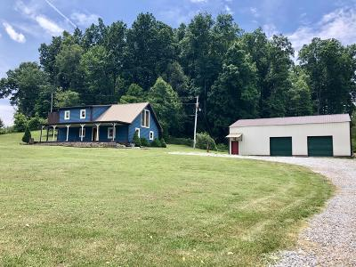 New Tazewell Single Family Home For Sale: 2193 Snodgrass Rd
