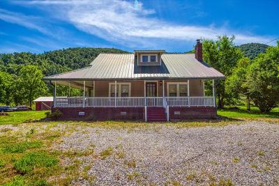 Cocke County Single Family Home For Sale: 3896 Cosby Hwy