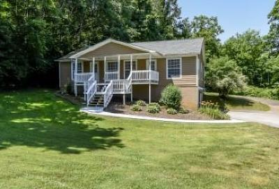 Maryville Single Family Home For Sale: 523 & 525 Dotson Memorial Rd